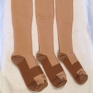Other - 3 pairs XXL Size 20-30mmHg High Compression Socks
